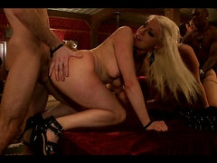 Rough Sex For A Dick Loving Blonde