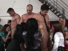 A Breath Taking Orgy With Insatiable..