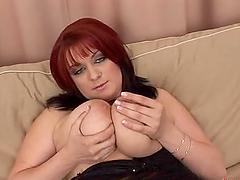 Kamila C deepthroats a cock and..