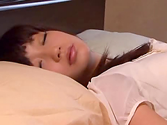 Luscious Japanese babe gets fucked and..