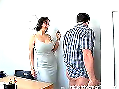 Mature Cynthia Pendragon Gets Drilled..