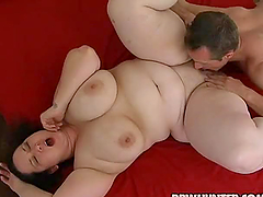 Busty BBW Fucking Cowgirl and Doggy..