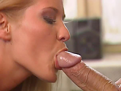 Shaved Pussy Blonde Blowjob and..