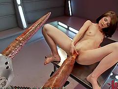 Naughty Brunette Gets a Loud Orgasm..